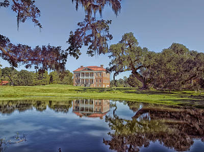 Drayton Hall Plantation Print by Mountain Dreams