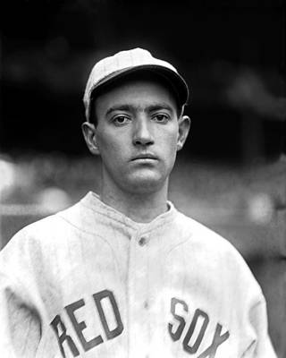 Red Sox Photograph - Edward F. Ed Durham by Retro Images Archive
