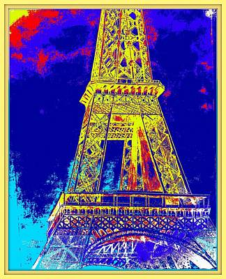 Eiffel Tower Print by Irving Starr