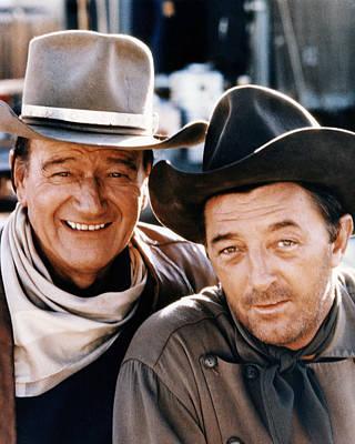 John Wayne Photograph - El Dorado  by Silver Screen