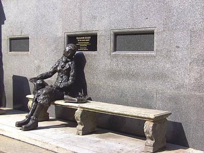 Eleanor Rigby Statue Liverpool Uk Print by Steve Kearns