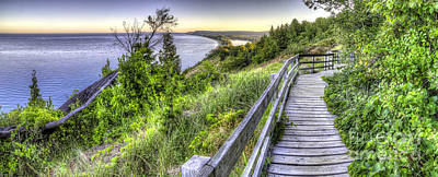 Sunrise Photograph - Empire Bluff by Twenty Two North Photography