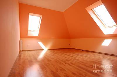 Family Photograph - Empty Interior by Michal Bednarek