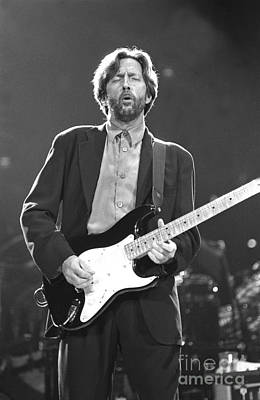 Clapton Photograph - Eric Clapton by Front Row  Photographs