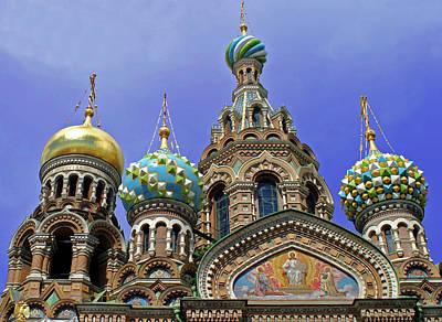 Savior Photograph - Europe, Russia, St by Kymri Wilt