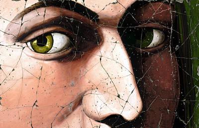 Male Painting - Eyes Of Bindo Altoviti - Study No. 1 by Steve Bogdanoff