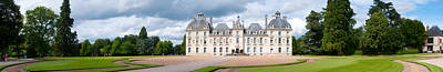 Cher Photograph - Facade Of A Castle, Chateau De by Panoramic Images