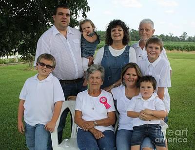 Photograph - Family Portrait by Paulette Thomas