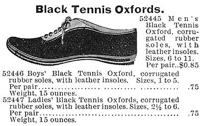 Fashion Sneakers, 1895 Print by Granger
