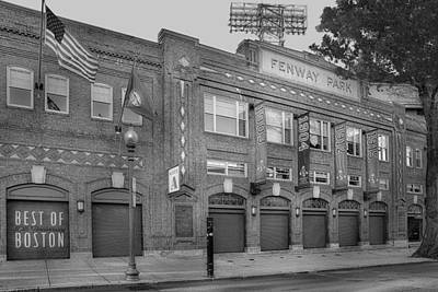 Fenway Park - Best Of Boston Print by Susan Candelario