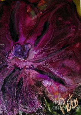 Olivia Painting - Fleur De Olivia by Kim Peto