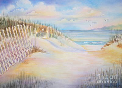 Florida Skies Print by Deborah Ronglien