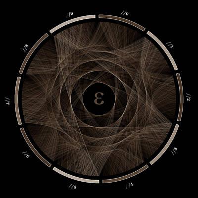 Infinite Digital Art - Flow Of E #2 by Cristian Vasile