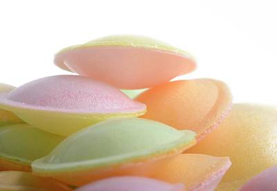 Flying Saucer Sweets Print by Cordelia Molloy