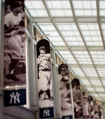 Yankee Stadium Digital Art - Focus On The Iron Horse by Aurelio Zucco