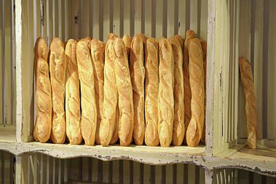 Baguettes Photograph - France, Provence-alpes-cote D'azur by Kevin Oke
