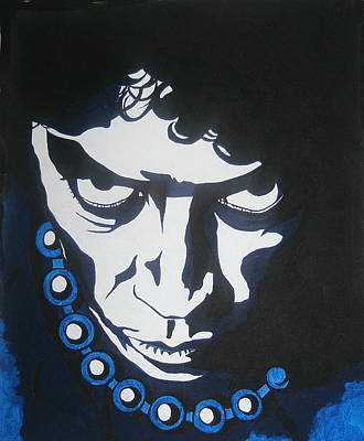 Tim Curry Painting - Frankie II by Deana Smith