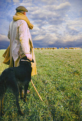 Commercial Art Photograph - French Shepherd by Chuck Staley