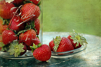 Fresh Berries Print by Darren Fisher