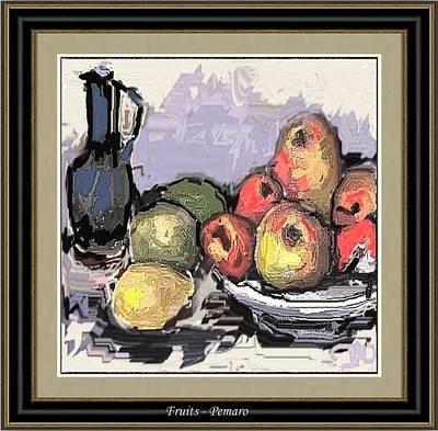 Fruit Print by Pemaro