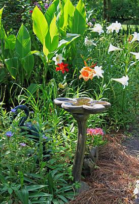 Garden Magic Print by Suzanne Gaff