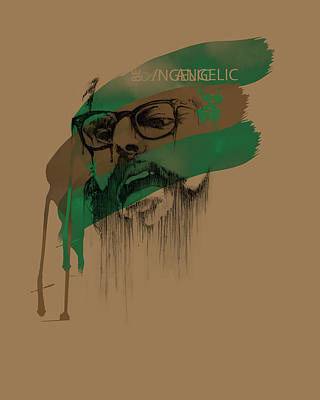 Angelic Digital Art - Ginsberg by Pop Culture Prophet