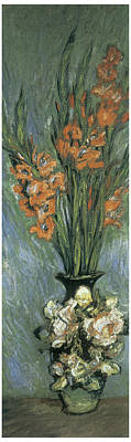 Gladiolus Painting - Gladioli by Claude Monet