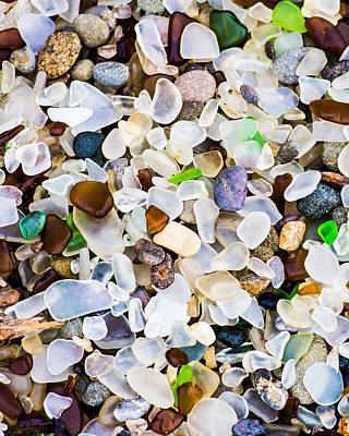 Glass Photograph - Glass Beach by Priya Ghose