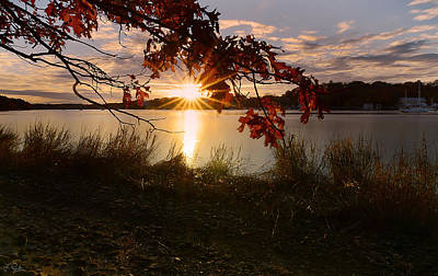 New England Ocean Photograph - Goddard Marina by Lourry Legarde