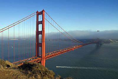 Golden Gate Photograph - Golden Gate Bridge by Melanie Viola