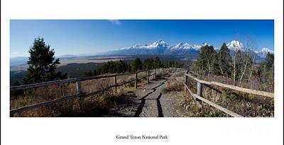 Grand Teton Photograph - Grand Teton National Park by Twenty Two North Photography