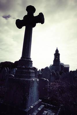 Tomb Photograph - Graveyard by Joana Kruse