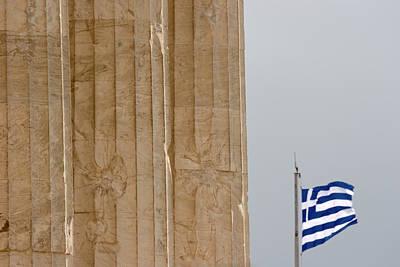 Acropolis Photograph - Greece, Athens, Acropolis by Jaynes Gallery