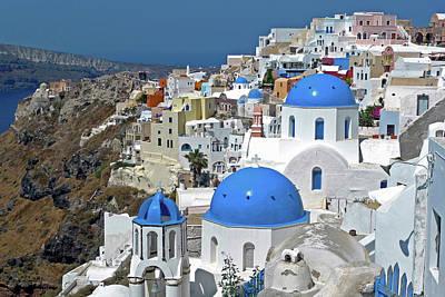 Cyclades Photograph - Greece, Santorini by David Noyes