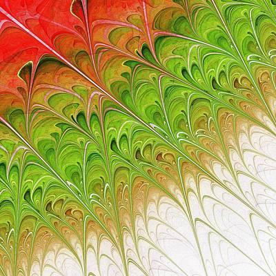 Green Folium Print by Anastasiya Malakhova