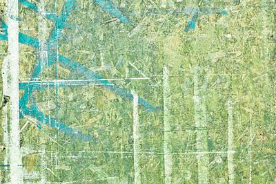 Green Wood Print by Tom Gowanlock