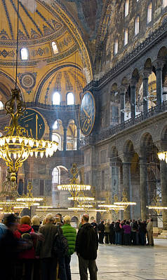 Photograph - Hagia Sophia Scene Four by Cliff C Morris Jr
