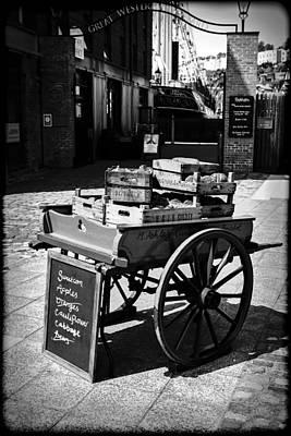 Hand Cart Original by Chris Smith