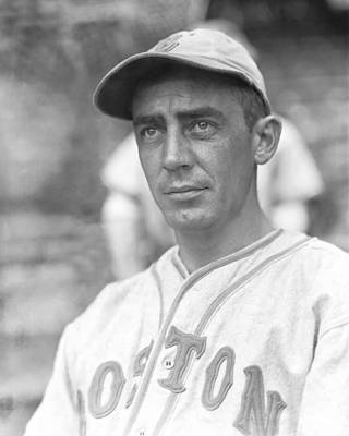 Red Sox Photograph - Harold B.rabbit Warstler by Retro Images Archive
