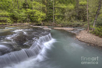 Arkansas Photograph - Haw Creek Falls by Twenty Two North Photography