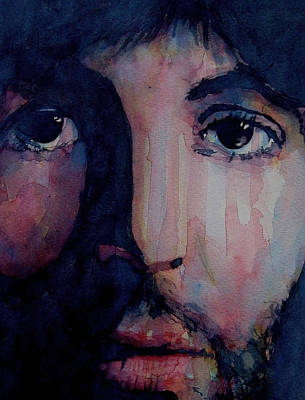 Singer Songwriter Painting - Hey Jude by Paul Lovering