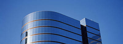Built Structure Photograph - High Section View Of A Building by Panoramic Images