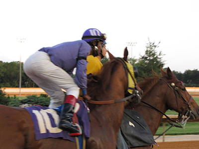 Hollywood Casino At Charles Town Races - 12123 Print by DC Photographer