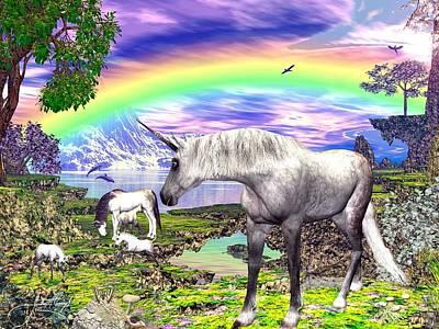 Horse Print by Raphael  Sanzio