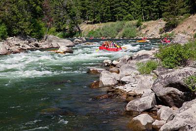 Salmon River Photograph - Idaho, Near Stanley, Salmon River by Jamie and Judy Wild