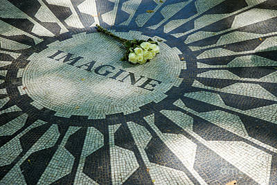Strawberry Fields Photograph - Imagine by Brian Jannsen