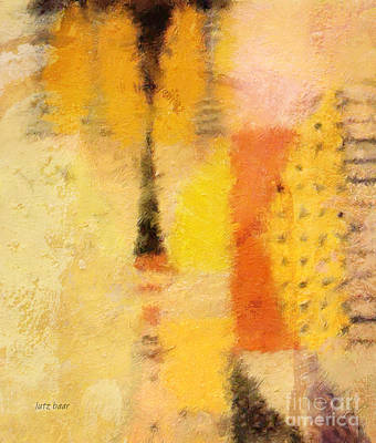 Abstract Expressionism Painting - Impression II by Lutz Baar
