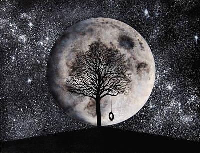 Contemplative Mixed Media - Inspirational Solitude by Holly Smith