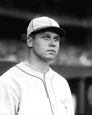 Man Photograph - James E. Jimmie Foxx by Retro Images Archive