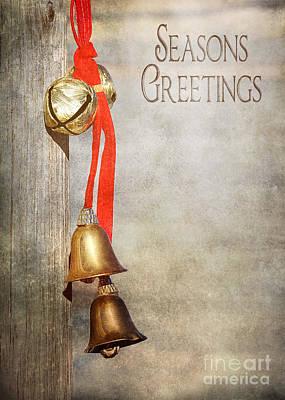 Vertical Photograph - Jingle Bells by Cindy Singleton